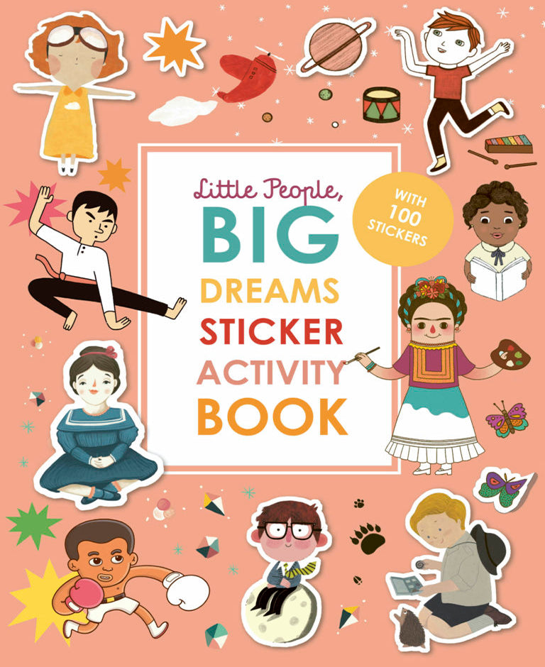 Little People Big Dreams Sticker Book - Baba Box