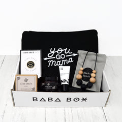 New Mum Monochrome Gift Box - Baba Box - Gift Ideas for New Mums