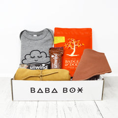 New Parent & Baby Sleepy Eye Gift Box - Baba Box