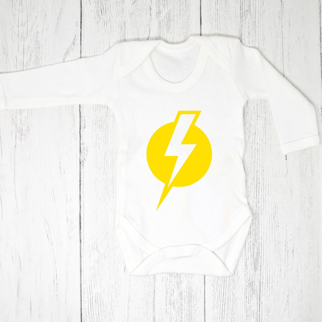 Twin Baby Gift Box - Lightning Bodysuit - Baba Box