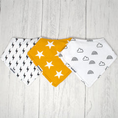 Twin Gift Box - Dribble Bibs - Baba Box
