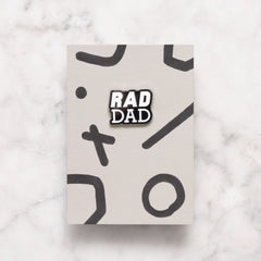 New Parent Gift - Rad Dad Pin - Baba Box