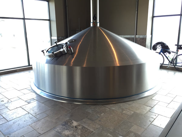 Deschutes brewing tank