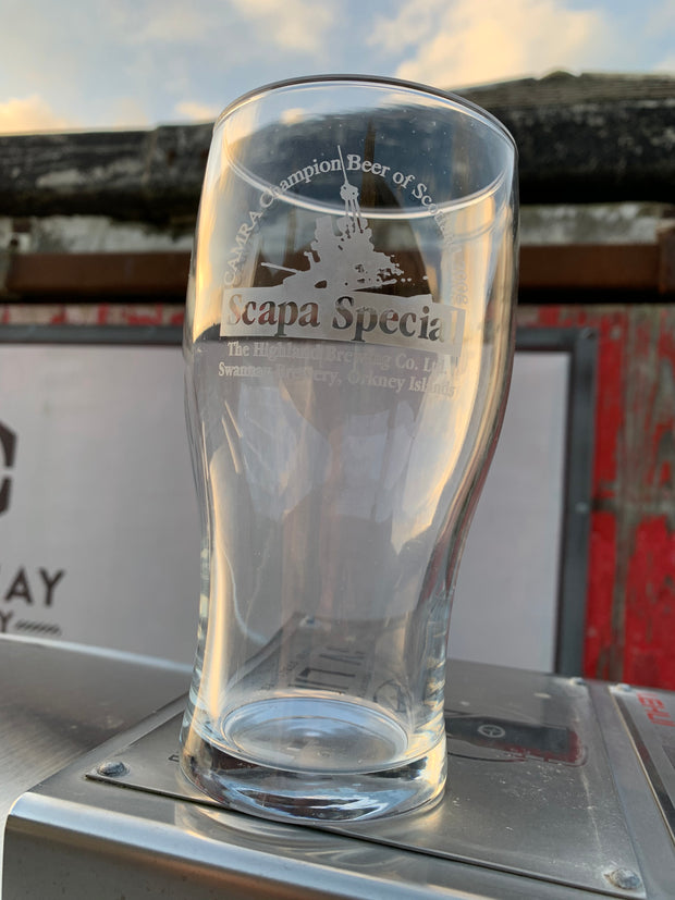 Scapa Special Pint Glass (c.2008 edition)