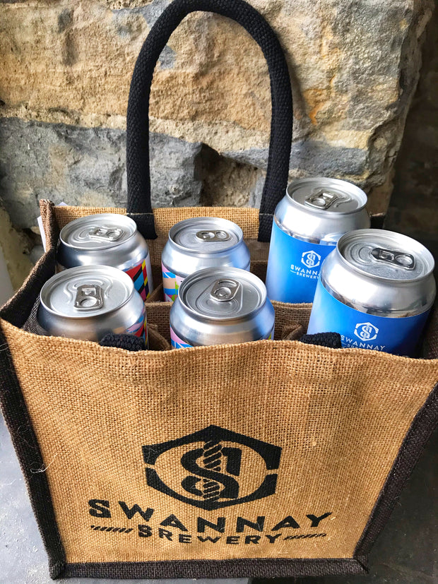 Swannay Brewery Jute Bag & 6 Can Special