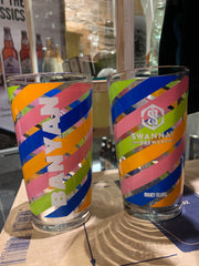 Banyan conical pint glass (nucleated)