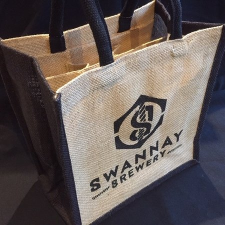 Swannay Jute Bottle Bag