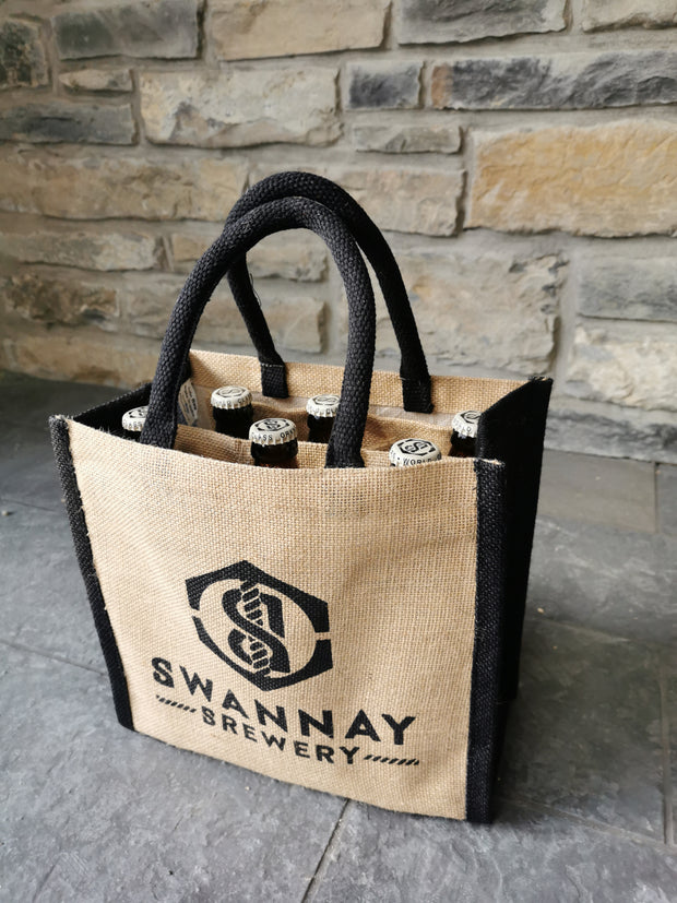 Swannay Brewery Jute Bag & 6 Bottle Special