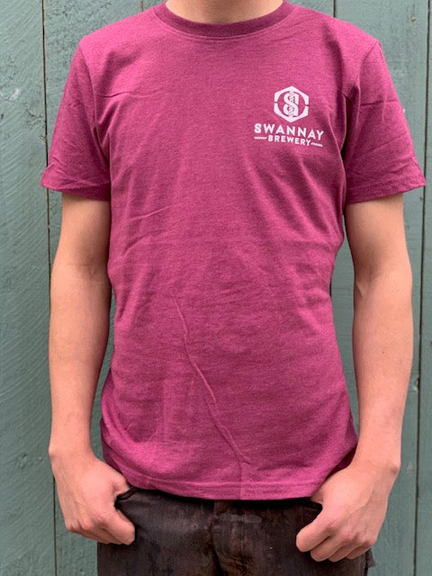 Recycled plum t-shirt