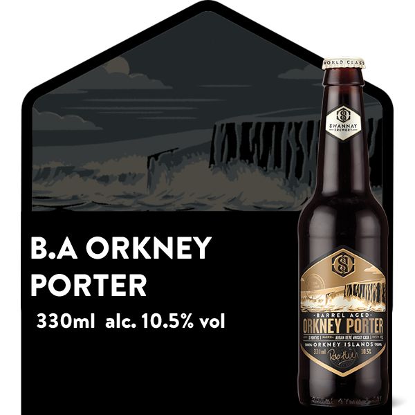 *SALE* Barrel Aged Orkney Porter (Arran edition)