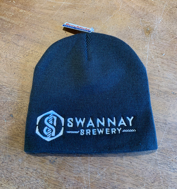 Swannay slouch beanie hat