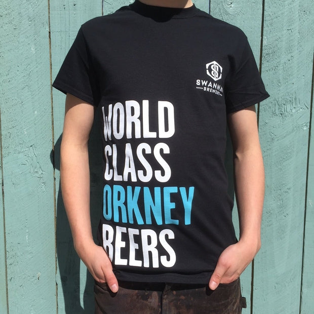 World class Orkney beers t-shirt