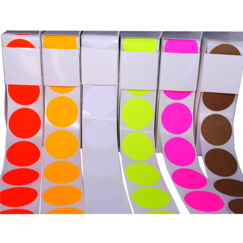 Color Coding labels: Rolls