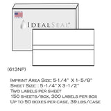 (Item #620-9) Postage Tape Sheets for Mailstation, DM100 Series and SendPro® C Series (613)