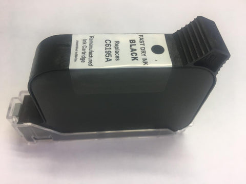 HP C6195A - Black Pigment Fast Dry Ink