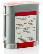(Item #787-0)  Red Ink Cartridge (Standard) for SendPro™ P / Connect+® Series Mailing Systems