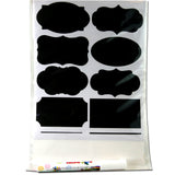 73 Premium Reusable Chalkboard Stickers With Marker