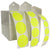 Color Coding labels: Neon Yellow Rolls