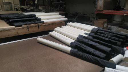 rod cases with liner