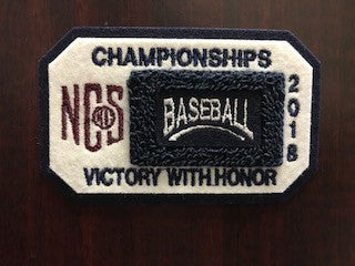 Baseball Championship Patch