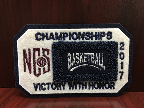 Basketball Championship Patch