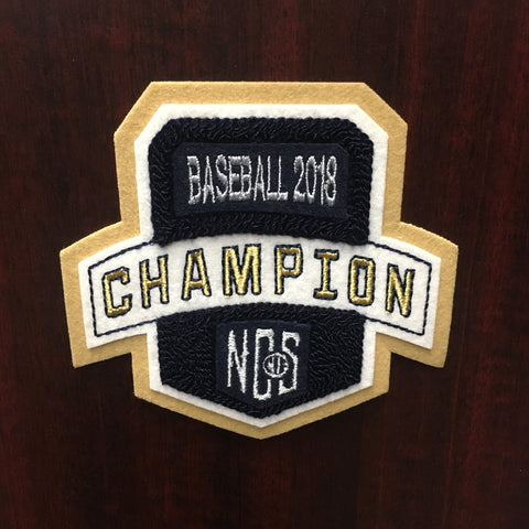 Baseball Champion Patch