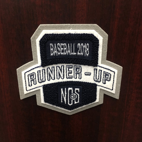 Baseball Runner-Up Patch