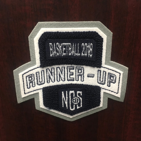 Basketball Runner-Up Patch