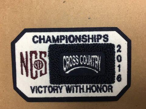 Cross Country Championship Patch