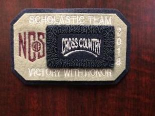 Cross Country Scholastic Team Patch