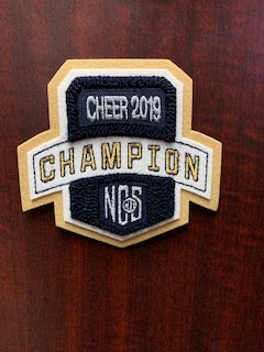 Cheer Champion Patch