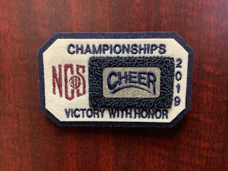 Cheer Championship Patch