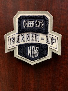 Cheer Runner-Up Patch