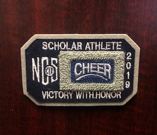 Cheer Scholar Athlete Patch