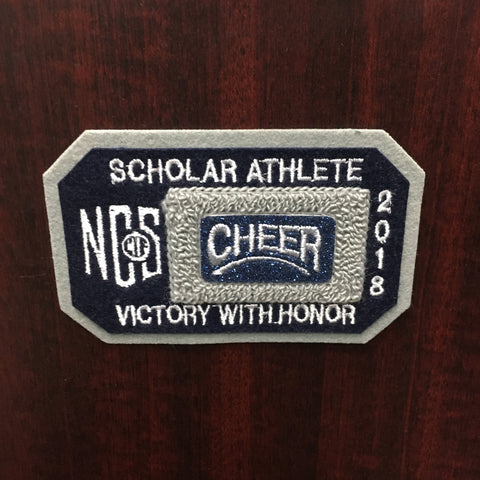 Cheerleading Scholar Athlete Patch