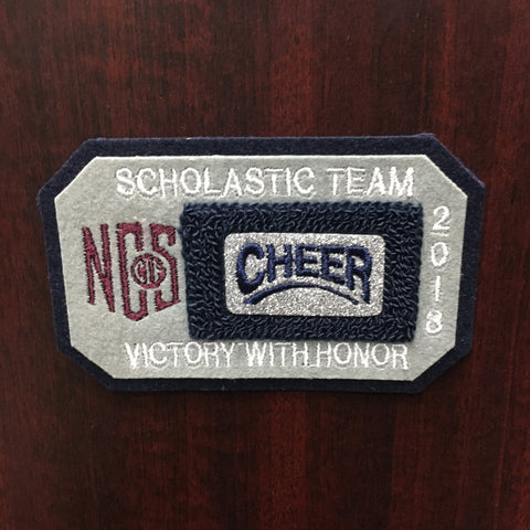 Cheerleading Scholastic Team Patch