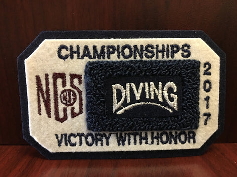 Diving Championship Patch