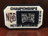 Dual Team Wrestling Championship Patch