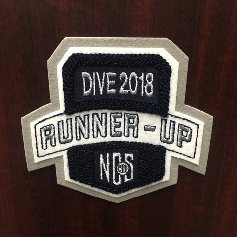 Dive Runner-Up Patch