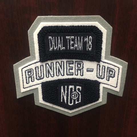 Dual Team Wrestling Runner-Up Patch