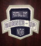 Football Runner-Up Patch