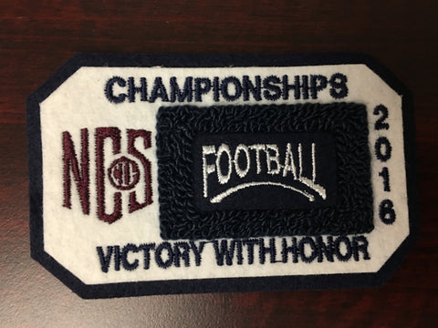 Football Championship Patch