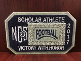 Football Scholar Athlete Patch