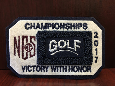 Golf Championship Patch