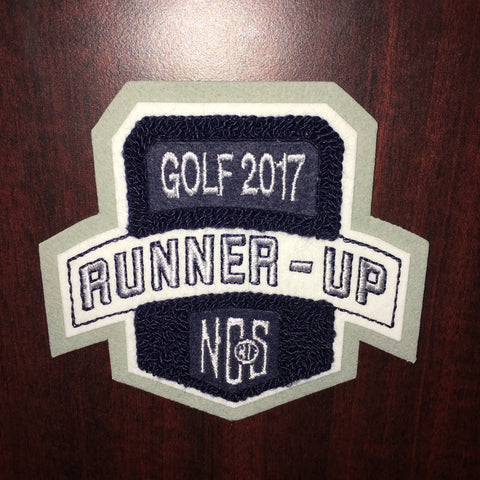 Golf Runner-Up Patch