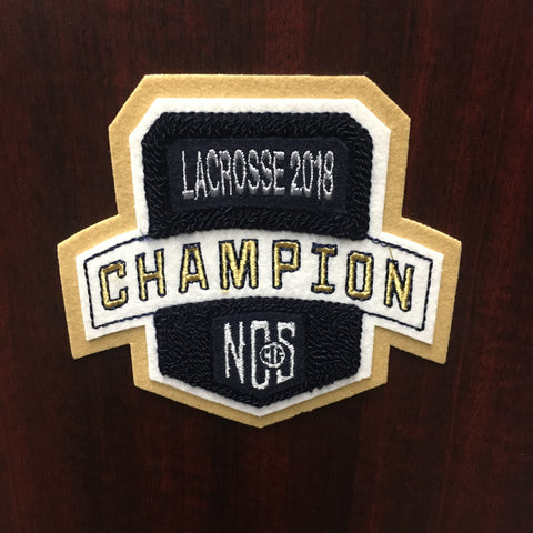Lacrosse Champion Patch