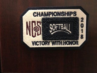 Softball Championship Patch