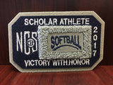Softball Scholar Athlete Patch