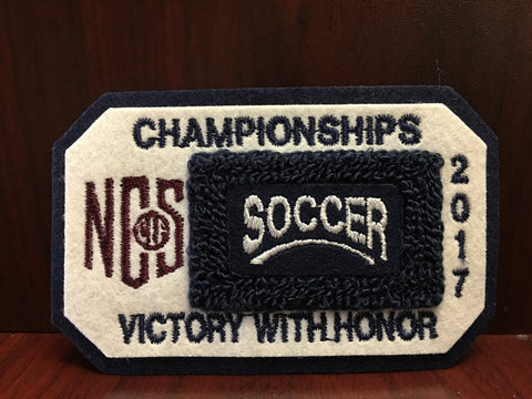 Soccer Championship Patch