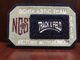 Track and Field Scholastic Team Patch